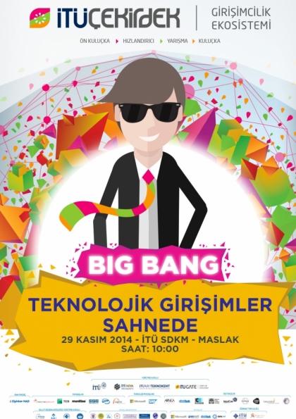 İTÜ Çekirdek Big Bang : Teknolojik Girişimler Sahnede Etkinlik Afişi