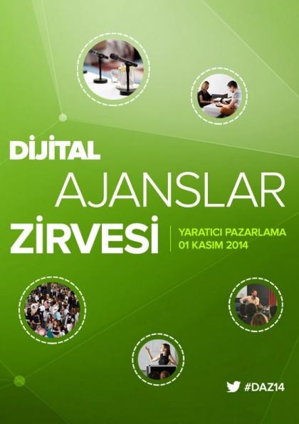 Dijital Ajanslar Zirvesi DAZ'14 Etkinlik Afişi