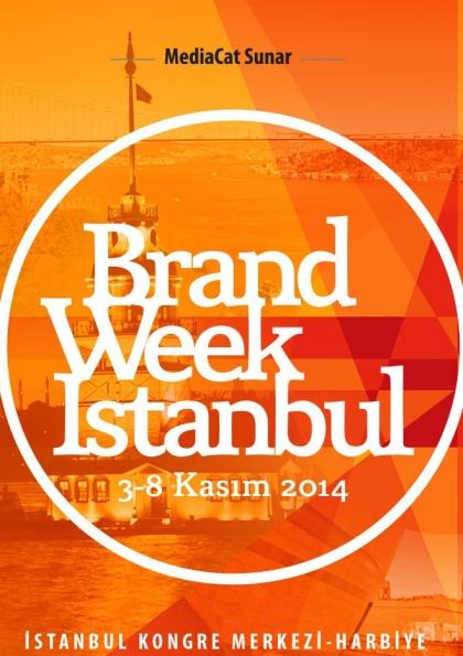 Brand Week Istanbul Etkinlik Afişi
