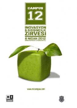 Campus 12 Girişimcilik ve İnovasyon Zirvesi Etkinlik Afişi
