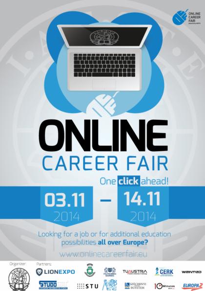 IAESTE Online Kariyer Fuarı 2014 Etkinlik Afişi