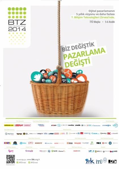 Bilişim Teknolojileri Zirvesi 2014 Etkinlik Afişi