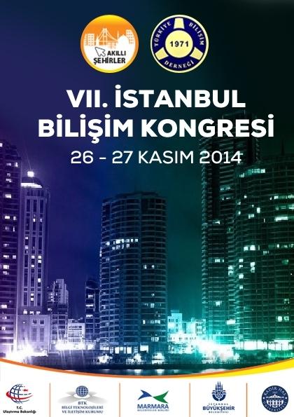 İstanbul Bilişim Kongresi Etkinlik Afişi