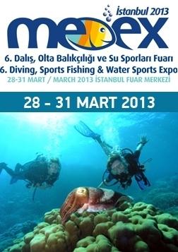 Medex 6. Dalış, Olta Balıkçılığı ve Su Sporları Fuarı Etkinlik Afişi