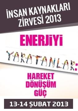 İnsan Kaynakları Zirvesi 2013 Etkinlik Afişi