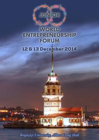 Junior World Entrepreneurship Forum - JWEF İstanbul Etkinlik Afişi