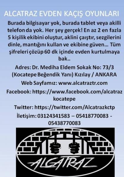 Alcatraz Evden Kaçış Oyunları