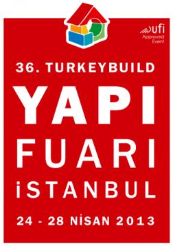 36. TurkeyBuild İstanbul Yapı Fuarı Etkinlik Afişi