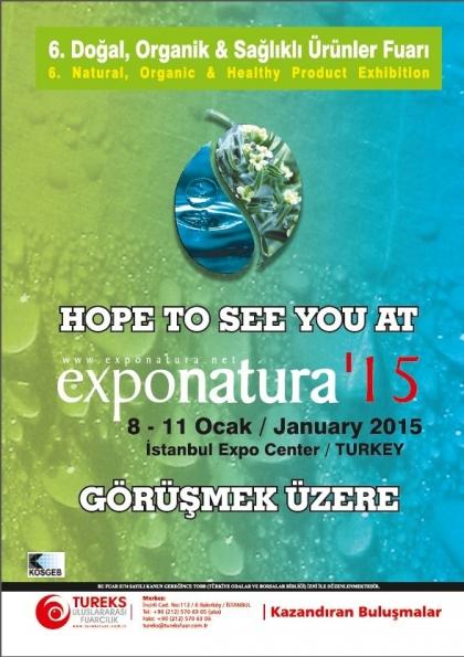 Exponatura'15 Etkinlik Afişi