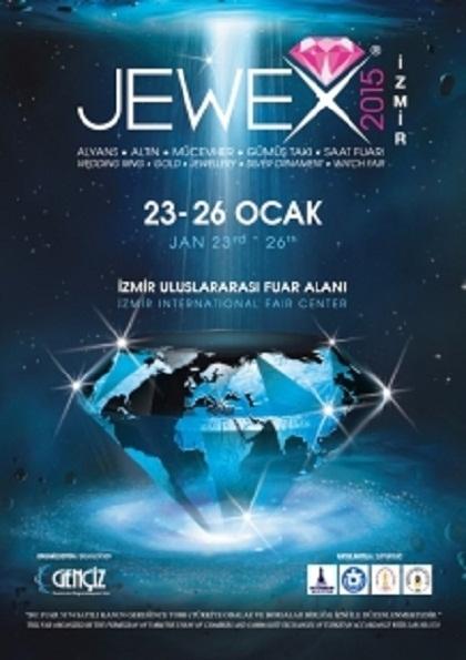 JEWEX Alyans, Altın, Mücevher, Gümüş Takı ve Saat Fuarı Etkinlik Afişi
