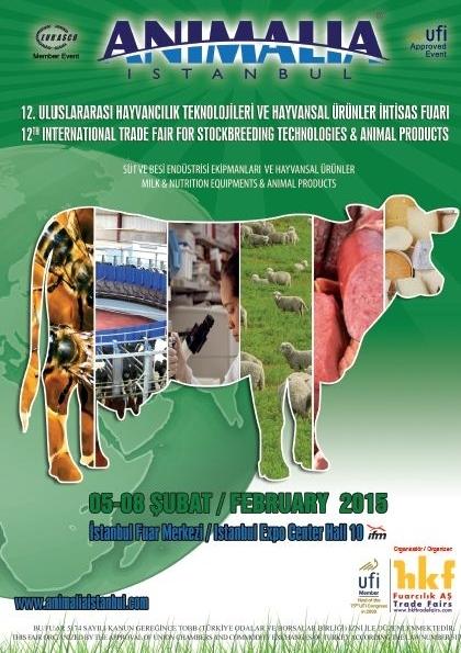 Animalia İstanbul 2015 Etkinlik Afişi