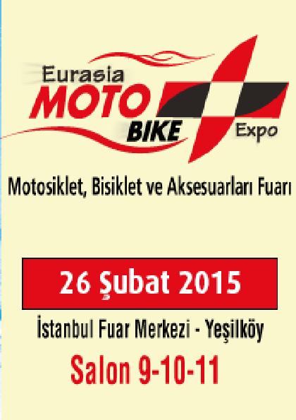 Eurasia Motobike Expo 2015 Etkinlik Afişi
