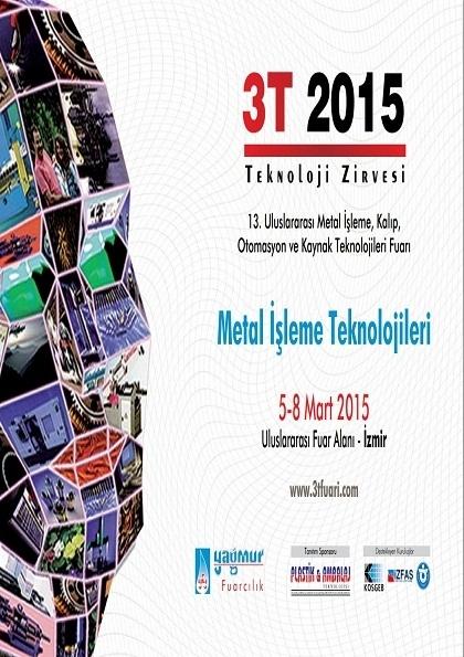 13. Uluslararası Metal İşleme, Kalıp, Otomasyon ve Kaynak Teknolojileri Fuarı Etkinlik Afişi