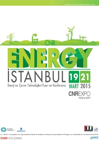 CNR ENERGY İstanbul Etkinlik Afişi