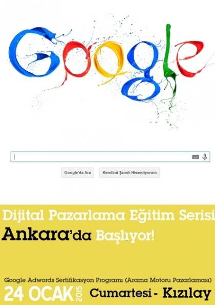 Google Adwords Eğitimi | Ankara Etkinlik Afişi