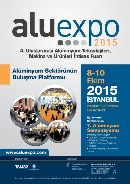 Aluexpo 2015 Etkinlik Afişi