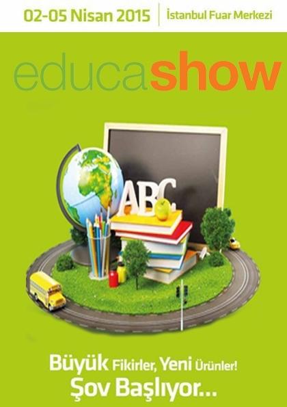 Educashow Okul Ekipmanları ve Teknolojileri Fuarı Etkinlik Afişi