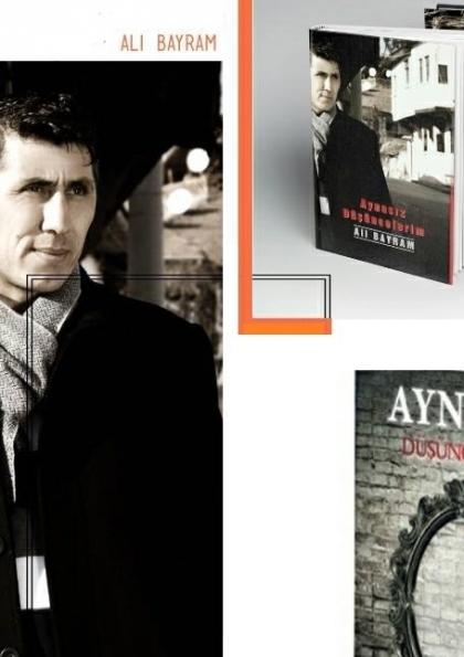 Yazar Ali Bayram İmza Günü Etkinlik Afişi