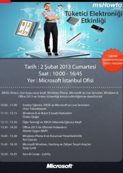MShowto Tüketici Teknolojileri Günü (Consumer Day) Etkinlik Afişi