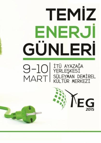 Temiz Enerji Günleri 2015 Etkinlik Afişi