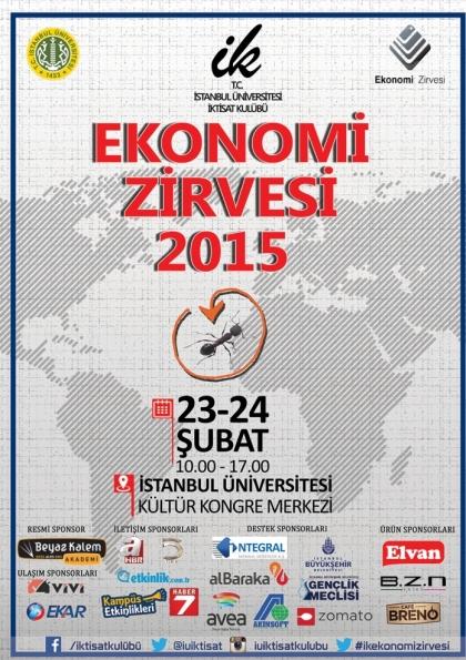 Ekonomi Zirvesi 2015 Etkinlik Afişi