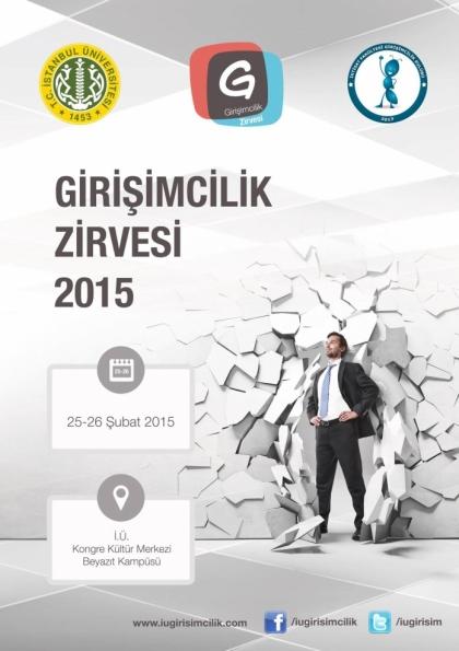Girişimcilik Zirvesi 2015 Etkinlik Afişi