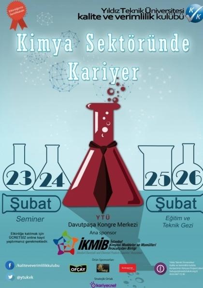Kimya Sektöründe Kariyer Etkinlik Afişi