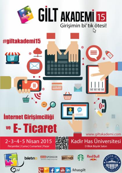 GİLT Akademi' 15 Etkinlik Afişi