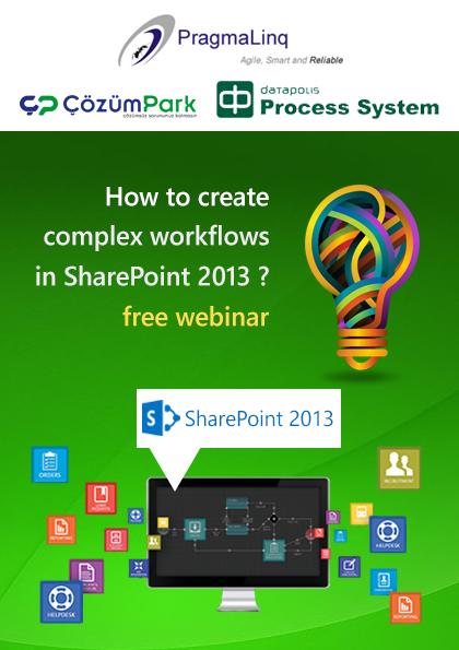 How To Create Complex Workflows in Sharepoint 2013 Etkinlik Afişi