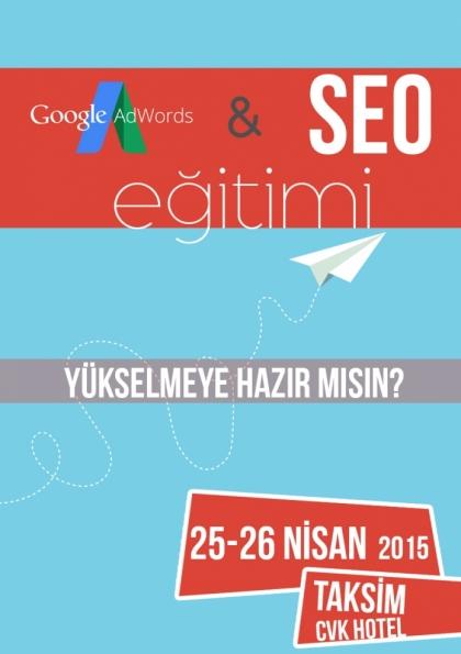 Google AdWords & SEO Eğitimi Etkinlik Afişi