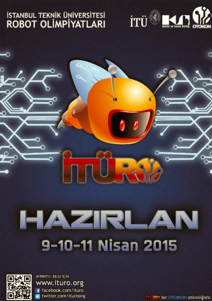 İTÜRO 2015 İTÜ Robot Olimpiyatları Etkinlik Afişi