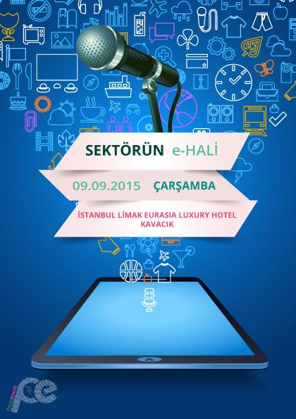 Sektörün e-Hali Konferansı Etkinlik Afişi