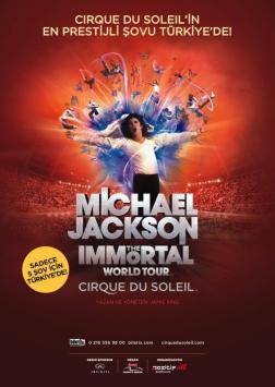 Michael Jackson The Immortal World Tour - Cirque Du Soleil Etkinlik Afişi