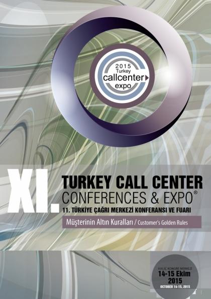 11. Çağrı Merkezi Konferansı ve Fuarı Etkinlik Afişi