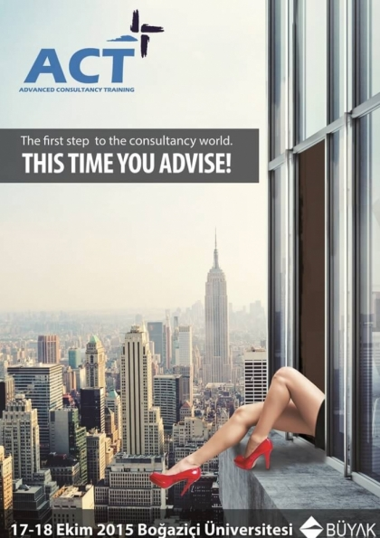 Advanced Consultancy Training Etkinlik Afişi