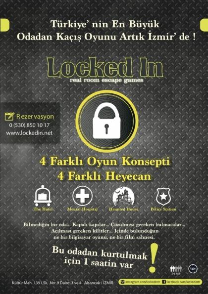 Locked In Room Escape Games Afişi