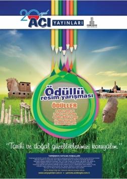 Ortaokul ve Liseler Arası Ödüllü Resim Yarışması Etkinlik Afişi