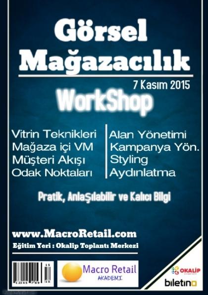 VM/ Görsel Mağazacılık Etkinlik Afişi