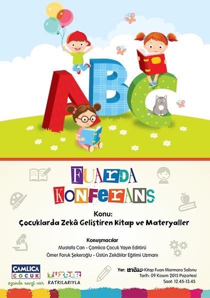 Çocuklarda Zeka Geliştiren Kitap ve Materyaller Konferansı Etkinlik Afişi