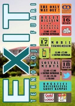 CompeC- EXIT Teknoloji Fuarı 2012 Etkinlik Afişi