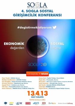 4. SOGLA Sosyal Girişimcilik Konferansı Etkinlik Afişi