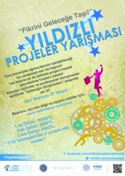 Yıldızlı Projeler Yarışması 2012 Etkinlik Afişi