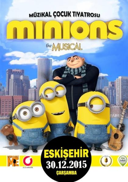 Minions Müzikli Çocuk Oyunu Eskişehir Etkinlik Afişi