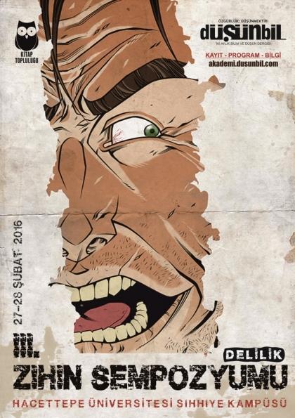 III. Zihin Sempozyumu Afişi