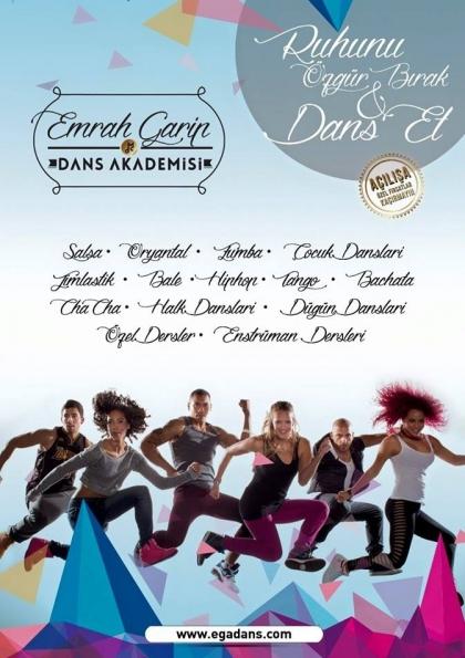 EGA Dans İle Müziğin Ve Dans'ın Tutkusunu Hissedin.. Afişi