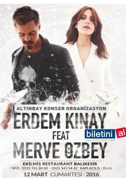 Erdem Kınay- Merve Özbey Afişi