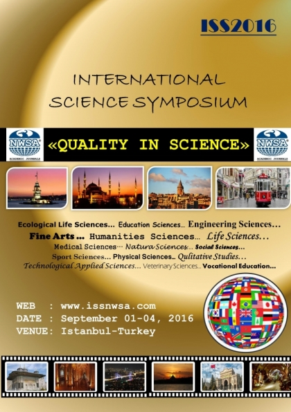 International Science Symposium Afişi