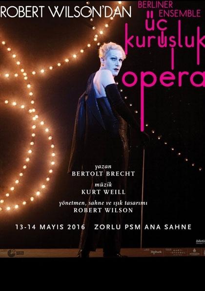 Üç Kuruşluk Opera İstanbul Afişi