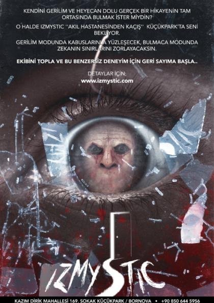 IZMYSTIC - Bornova Evden Kaçış Oyunu Afişi