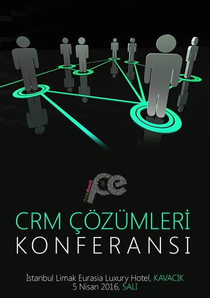 CRM Çözümleri Konferansı Etkinlik Afişi